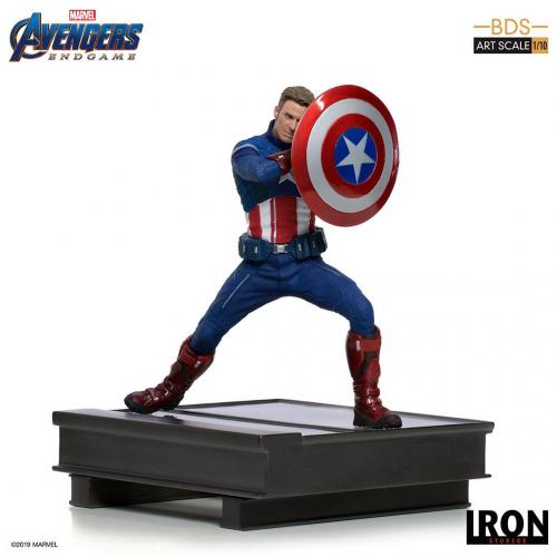 AVENGERS ENDGAME - Statuette BDS Art - Captain America 2023 - 19cm