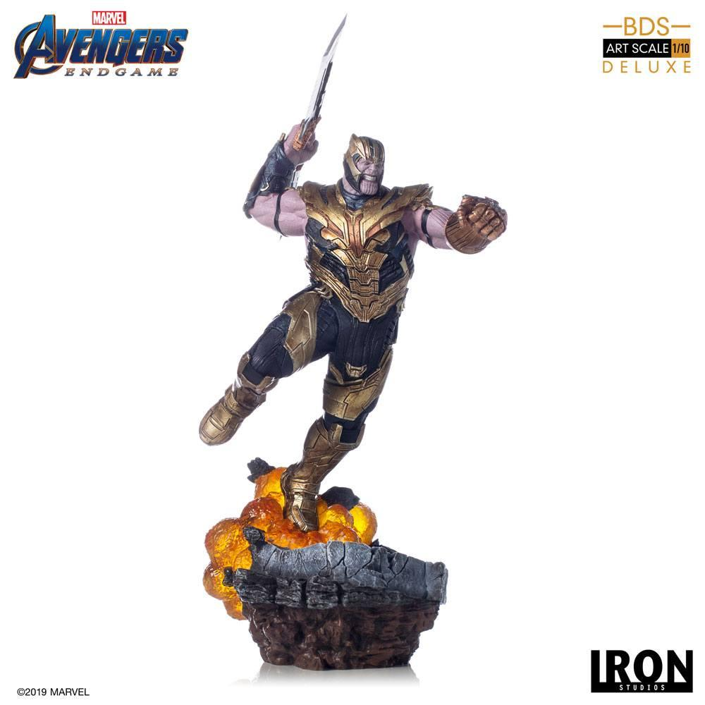 AVENGERS ENDGAME - Thanos Deluxe Version Statue - 36cm_1