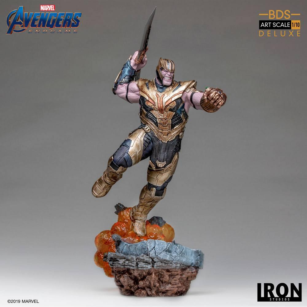 AVENGERS ENDGAME - Thanos Deluxe Version Statue - 36cm_2
