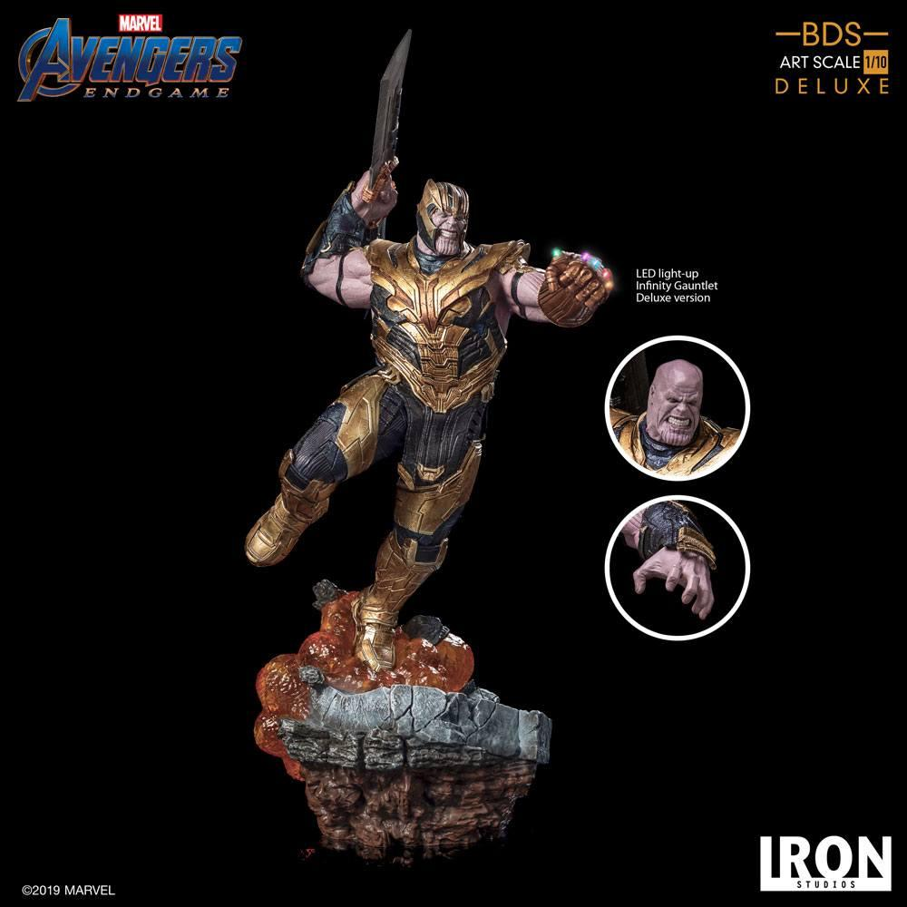 AVENGERS ENDGAME - Thanos Deluxe Version Statue - 36cm_3