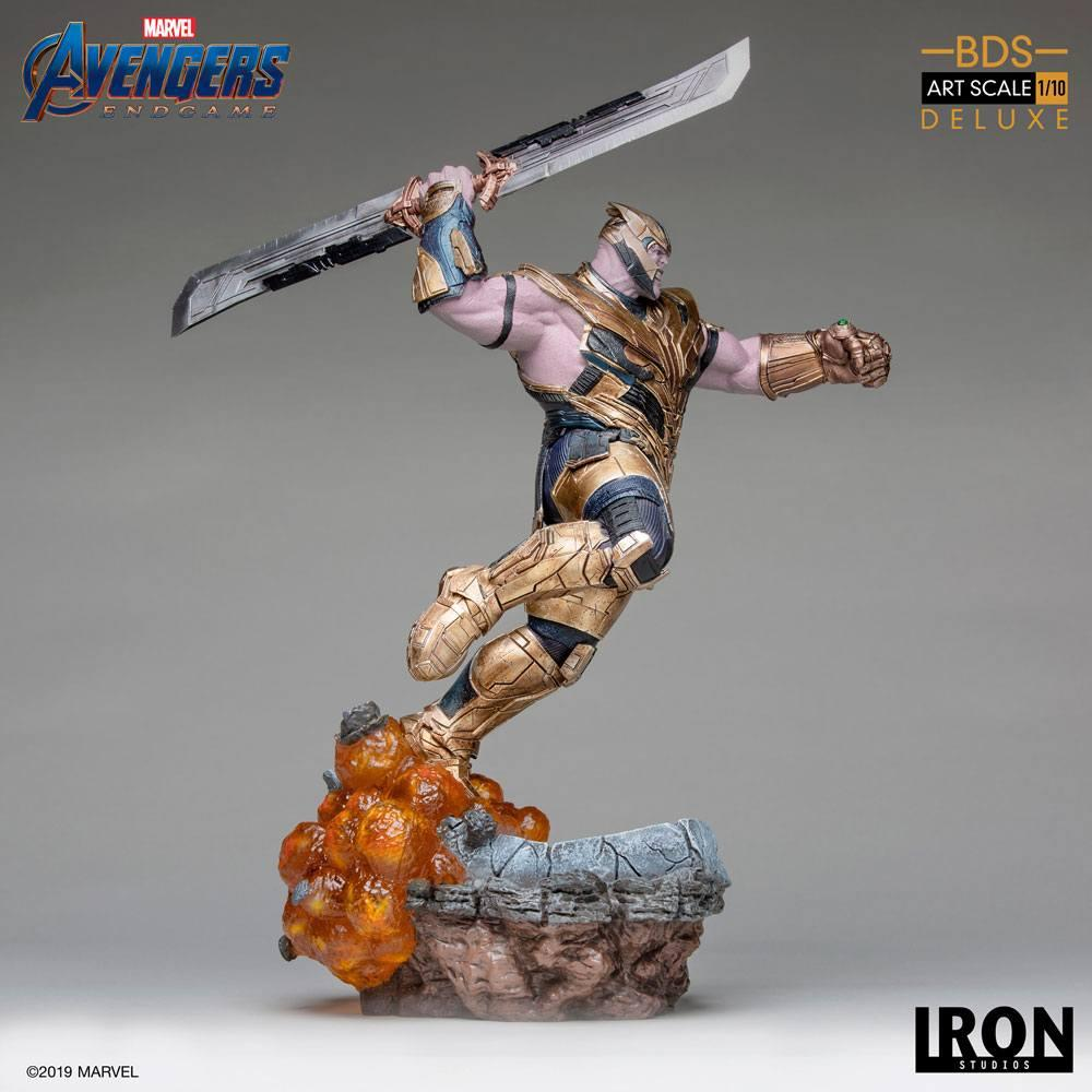AVENGERS ENDGAME - Thanos Deluxe Version Statue - 36cm_4