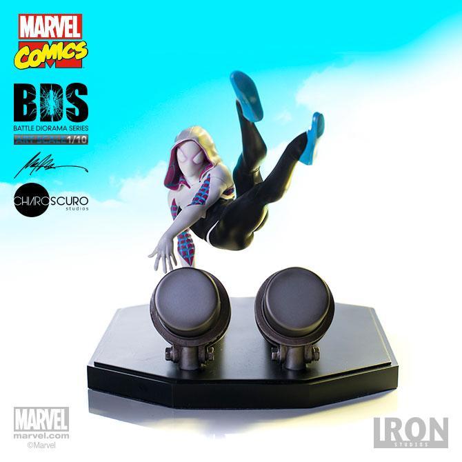 MARVEL - Battle Diorama Serie - Spider-Gwen - 16cm