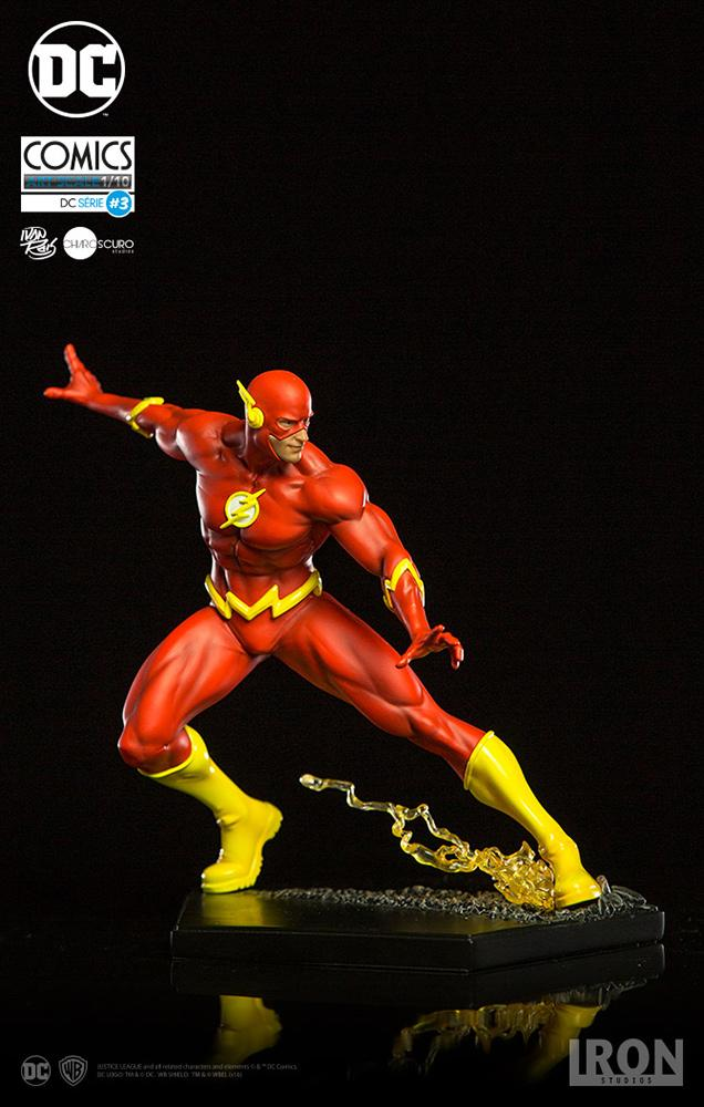 FLASH - Flash By Ivan Reisin Statue - 16cm