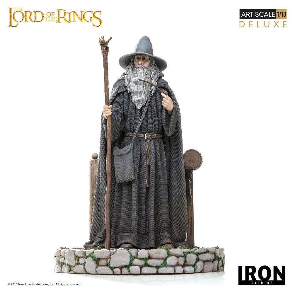 LORD OF THE RINGS - Statue 1/10 Deluxe BDS Art Scale Gandalf - 23cm