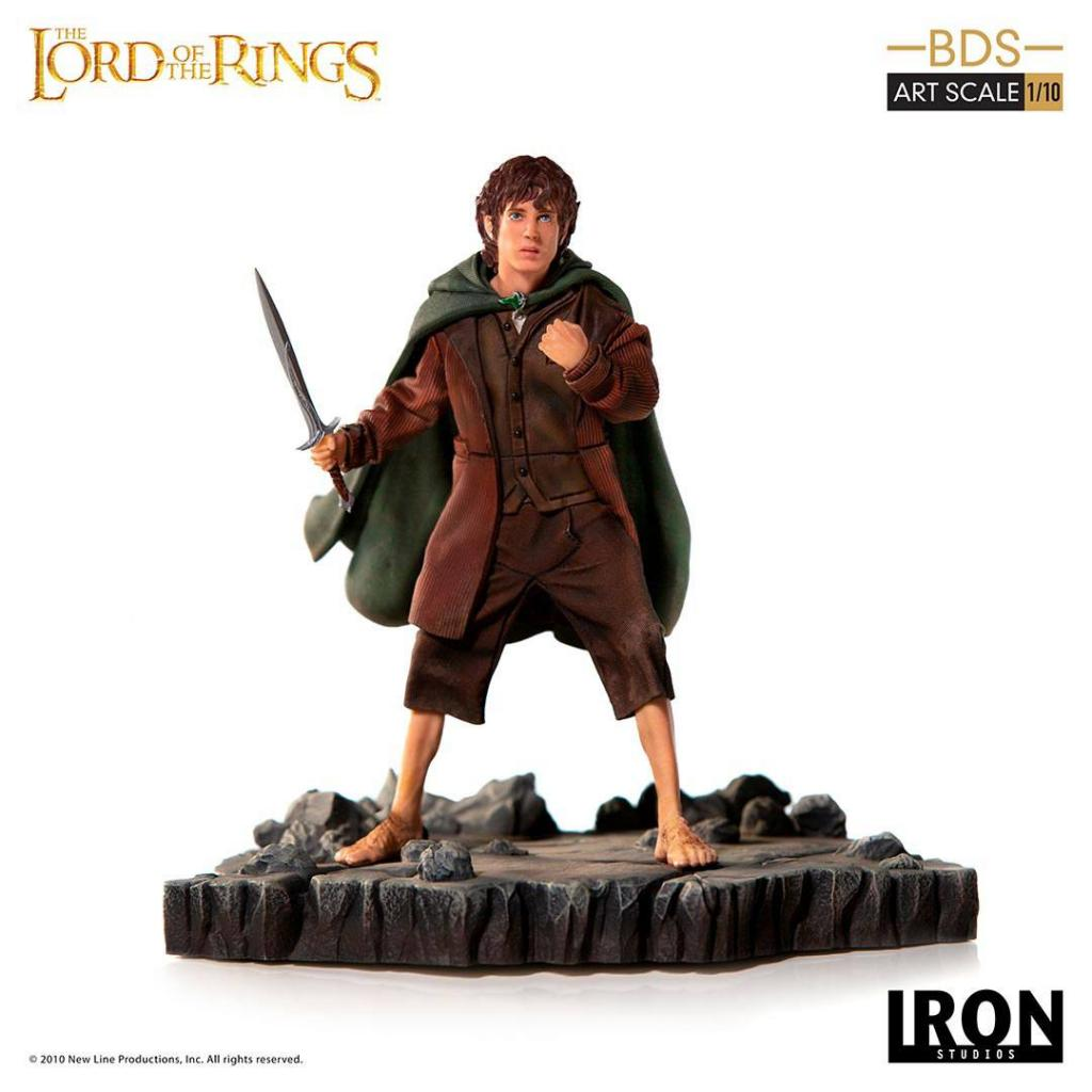 LORD OF THE RINGS - Statue 1/10 BDS Art Scale Frodo - 14cm