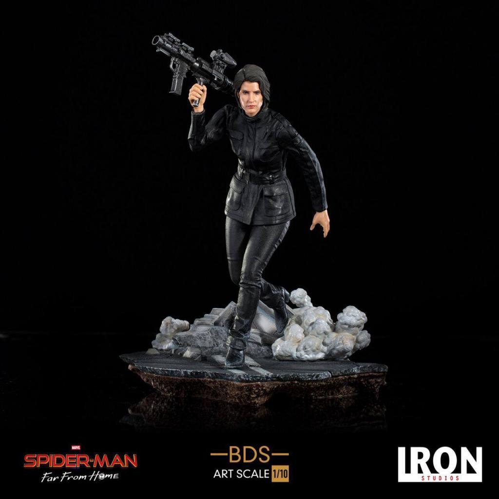 SPIDER-MAN - Statuette 1/10 BDS Art Scale Deluxe Maria Hill - 20cm