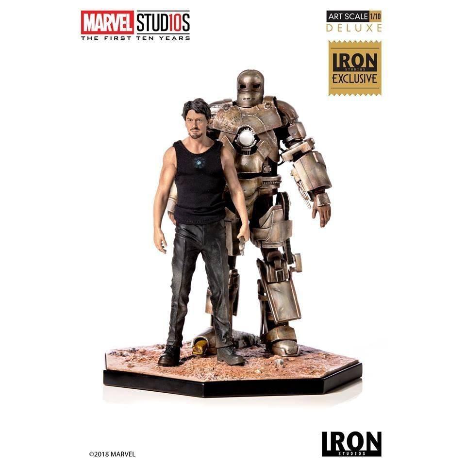 MARVEL - Comics - Statue 1/10 Iron Man Mark 1 CCXP 2019 Exclusive 22cm
