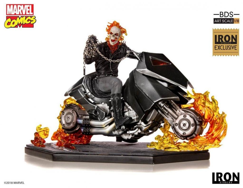 MARVEL - Comics - Statue 1/10 Ghost Rider CCXP 2019 Exclusive - 20cm
