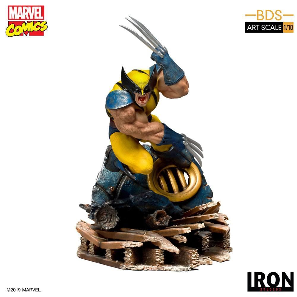 MARVEL - Comics - Statuette 1/10 BDS Art Scale Wolverine - 22cm