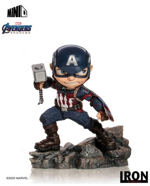 AVENGERS ENDGAME - Captain America - Figurine Mini Co. 15cm