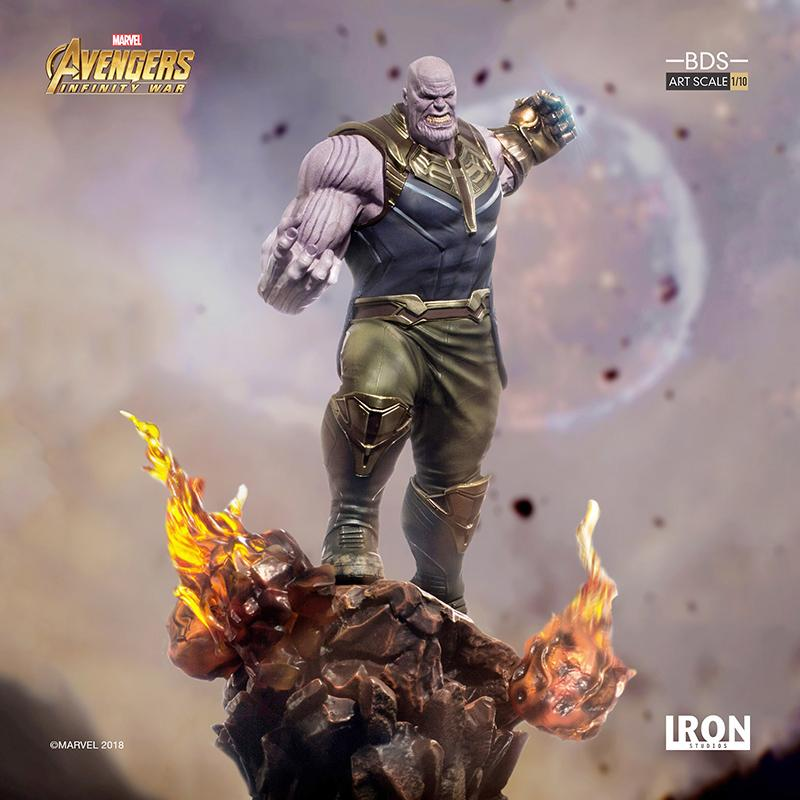 MARVEL AVENGERS INFINITY WAR - Thanos 1/10 Scale Statue - 35cm