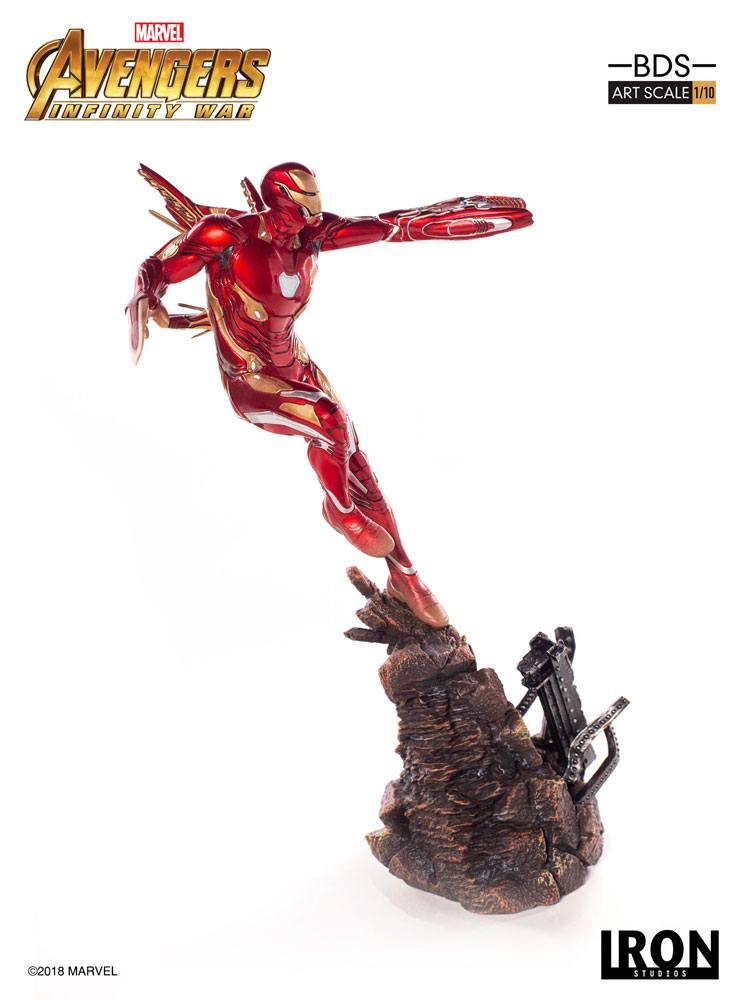 MARVEL AVENGERS INFINITY WAR - Iron Man Mark L 1/10 Statuette - 31cm_2