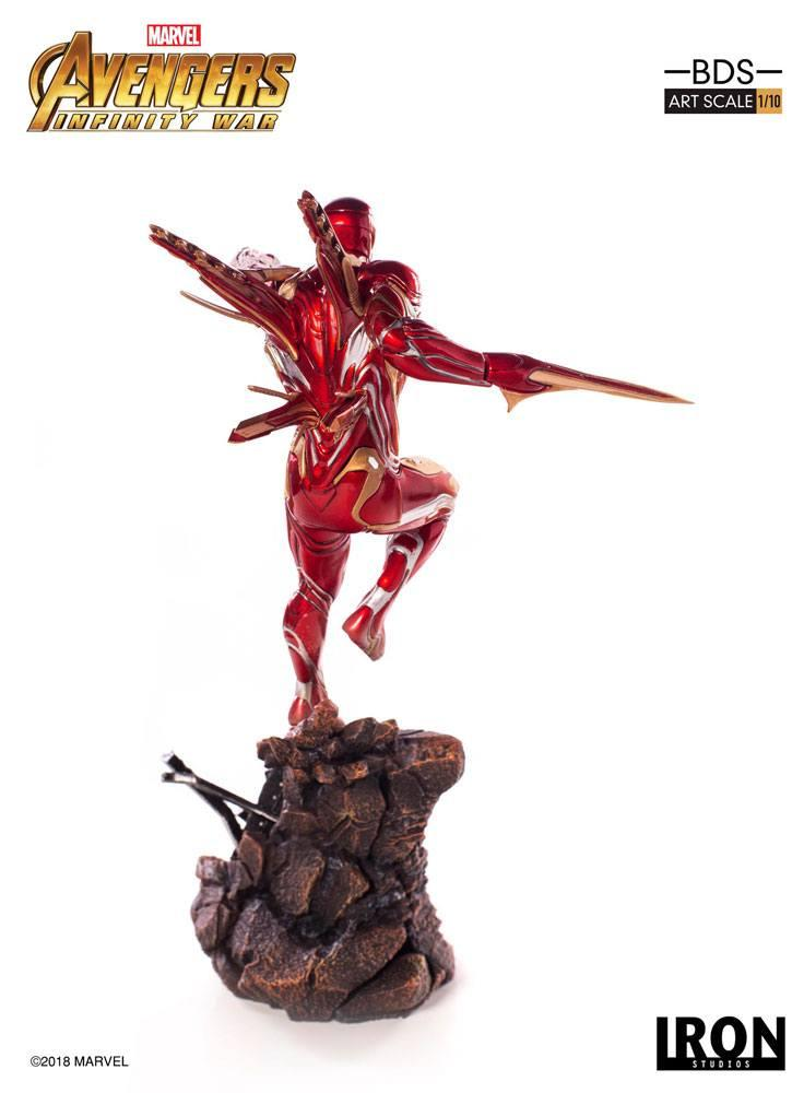 MARVEL AVENGERS INFINITY WAR - Iron Man Mark L 1/10 Statuette - 31cm_3