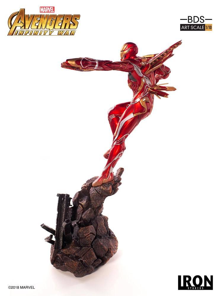 MARVEL AVENGERS INFINITY WAR - Iron Man Mark L 1/10 Statuette - 31cm_4