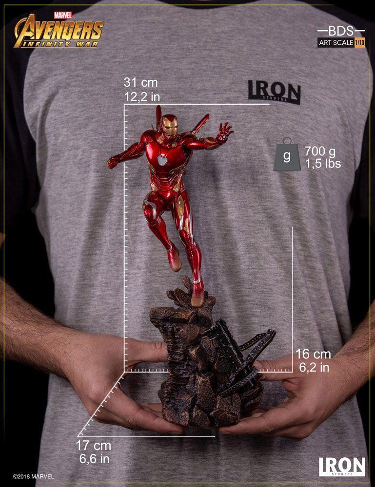 MARVEL AVENGERS INFINITY WAR - Iron Man Mark L 1/10 Statuette - 31cm_5