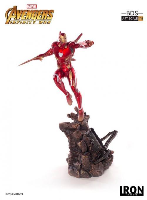 MARVEL AVENGERS INFINITY WAR - Iron Man Mark L 1/10 Statuette - 31cm