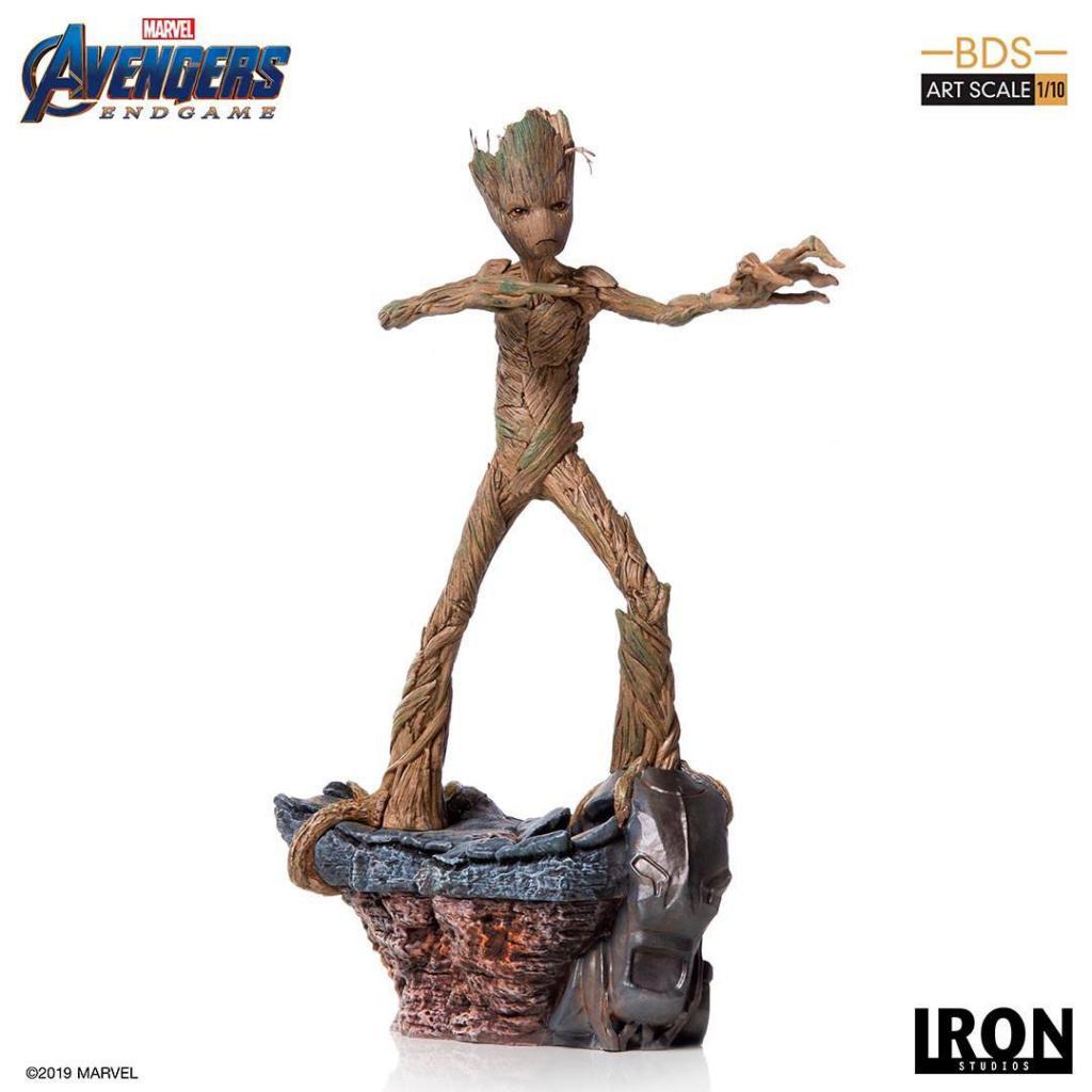 AVENGERS ENDGAME - Groot Statue - 24cm