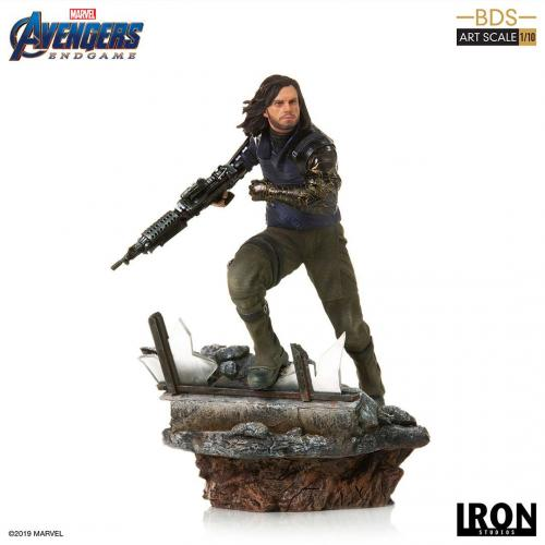 AVENGERS ENDGAME - Winter Soldier Statue - 21cm