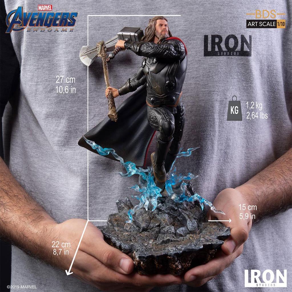 AVENGERS ENDGAME - Thor Statue - 27cm_5