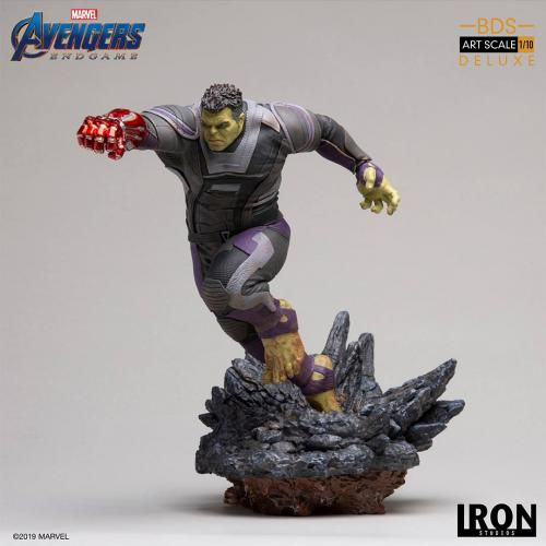 AVENGERS ENDGAME - Hulk Deluxe Version Statue - 22cm