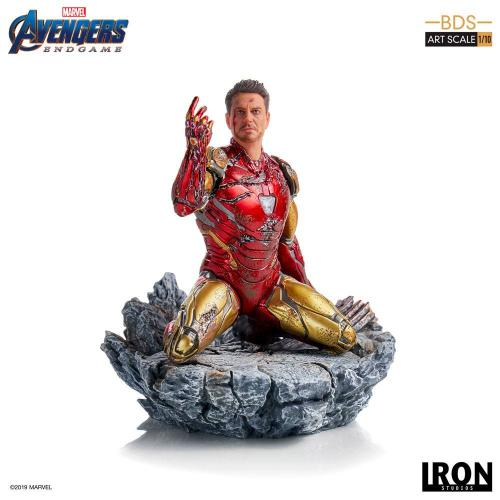 AVENGERS ENDGAME - I am Iron Man Statue - 15cm
