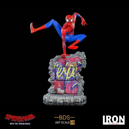 SPIDER-MAN : NEW GENERATION - BDS Art Scale Deluxe - Peter Parker 21cm