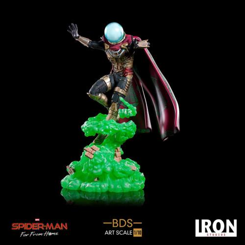 SPIDER-MAN : FAR FROM HOME - BDS Art Scale Deluxe - Mysterio 24cm