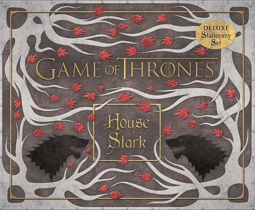 GAME OF THRONES - Set de Papeterie Deluxe - Stark_2