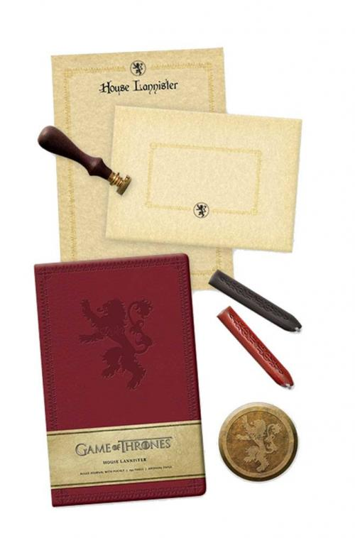 GAME OF THRONES - Set de Papeterie Deluxe - Lannister