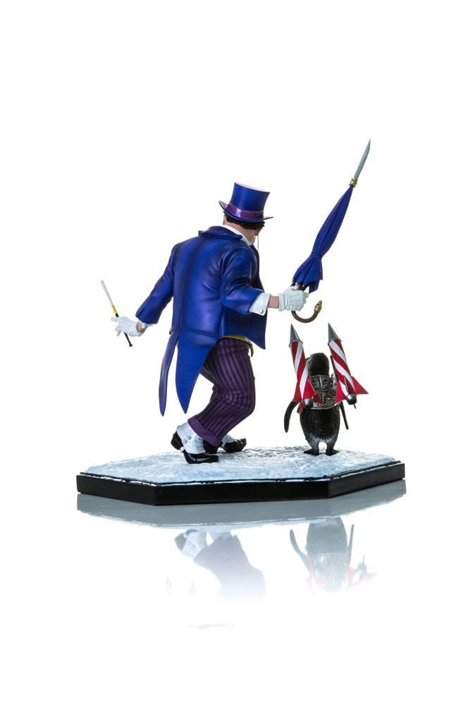 DC COMICS - Series 3 - Statue The Penguin - 1/10 Scale_3