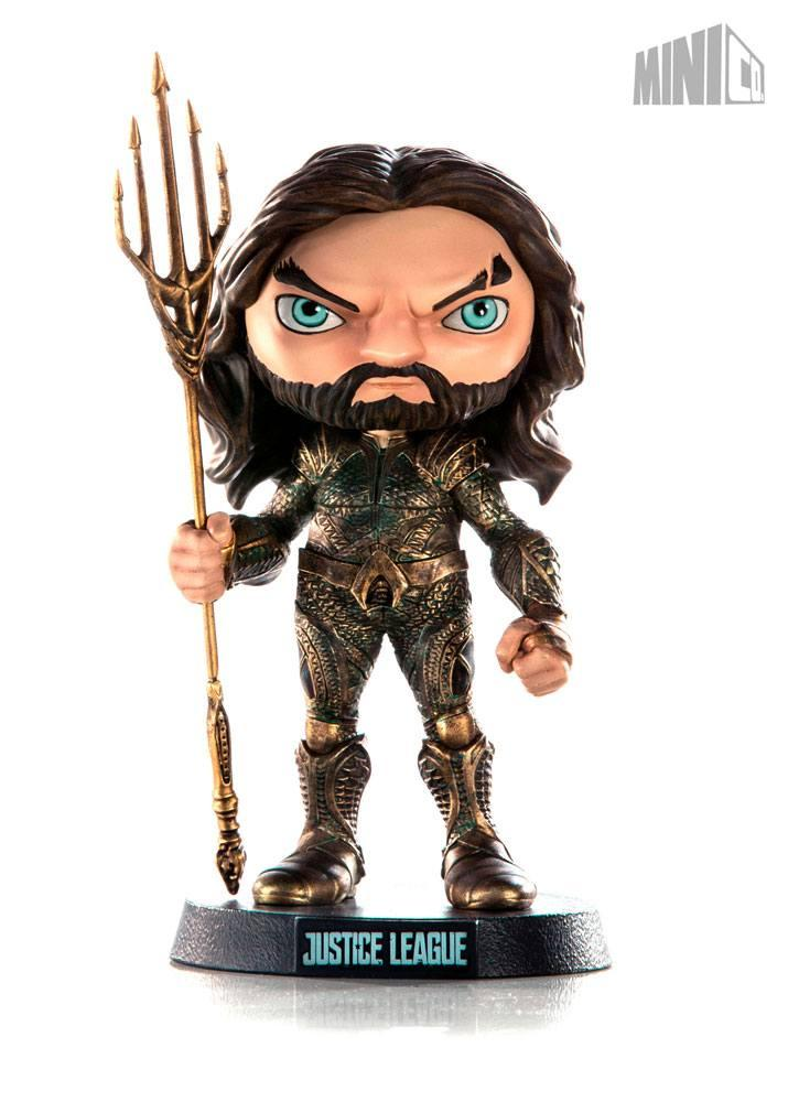 DC COMICS Justice League - Mini Co Heroes - Aquaman - 14cm