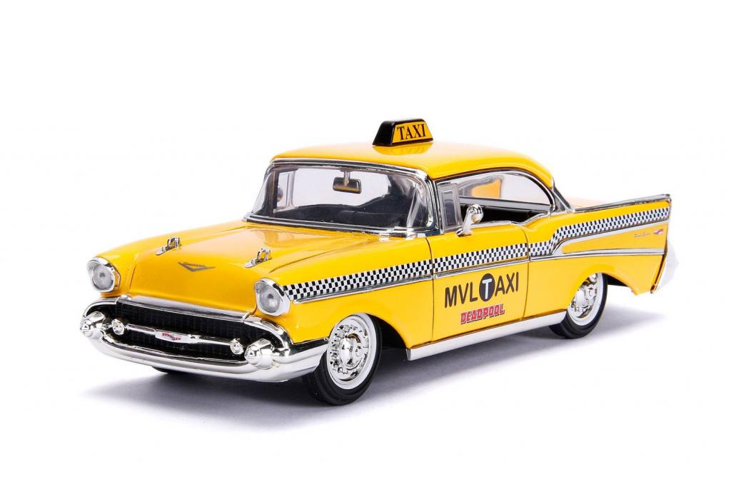 DEADPOOL - METAL Die Cast - Yellow Taxi with Deadpool_3