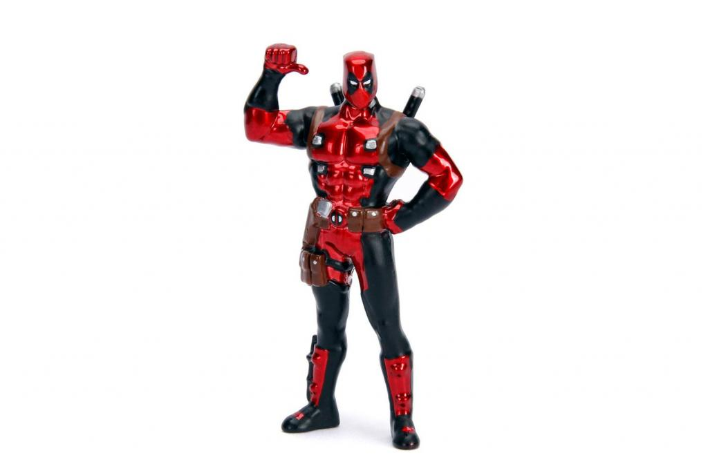 DEADPOOL - METAL Die Cast - Yellow Taxi with Deadpool_5