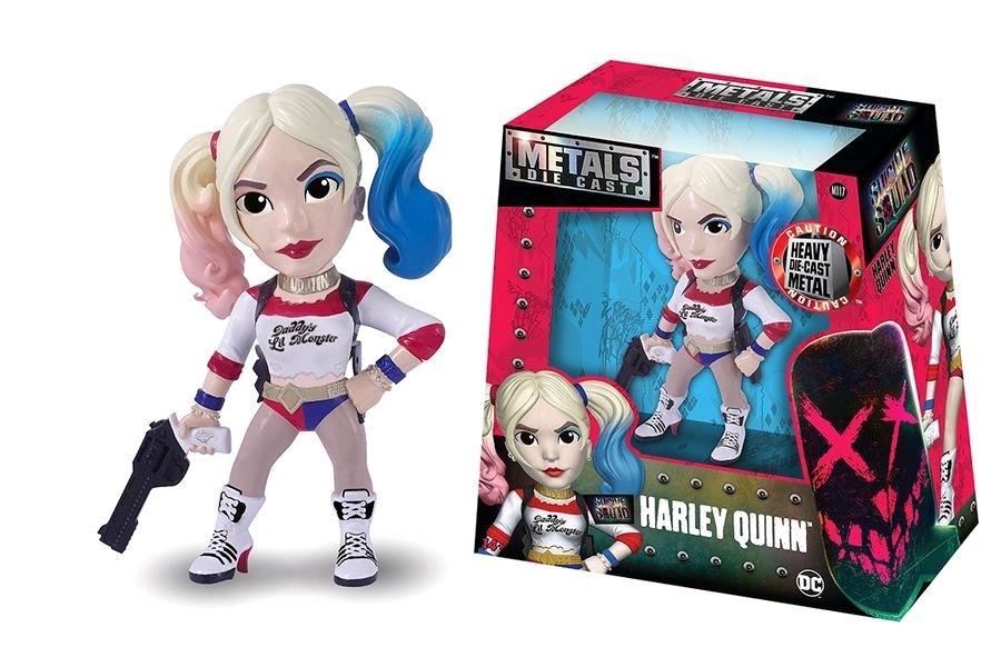 SUICIDE SQUAD - METAL Die Cast Figure 15 cm - Harley Quinn