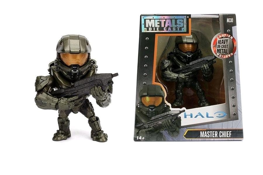 HALO - METAL Die Cast Figure 10 cm - Master Chief