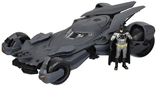 DC COMICS - Bat Vs Super 2016 Batmobile + Figure Metal Die-Cast - 1:24