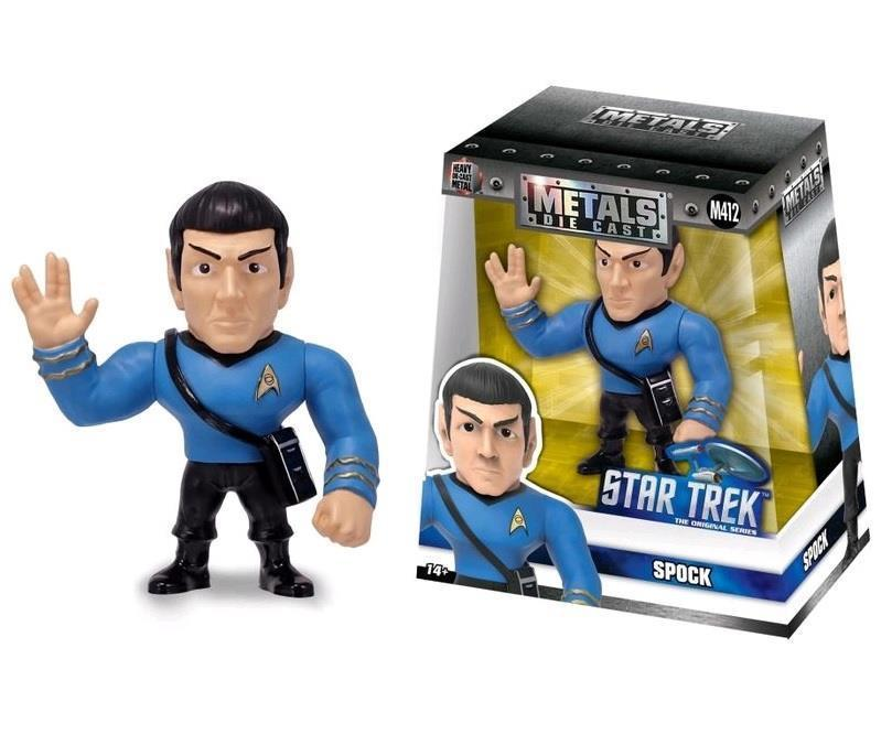 STAR TREK - METAL Die Cast Figure 10 cm - Spock