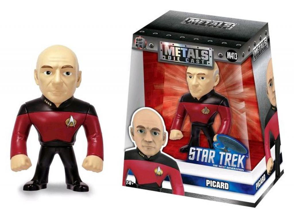 STAR TREK - METAL Die Cast Figure 10 cm - Picard