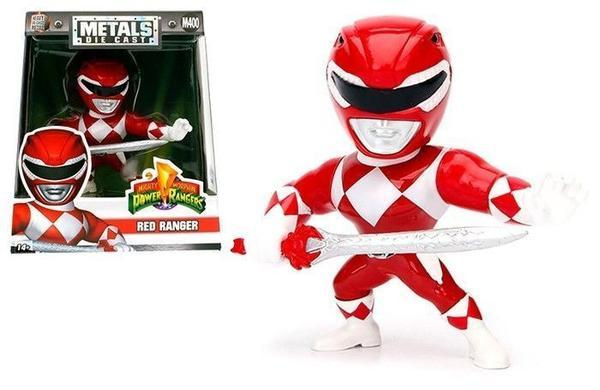 POWER RANGER - METAL Die Cast Figure 10 cm - Red Ranger
