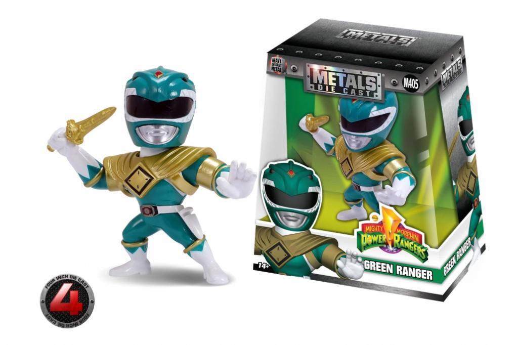 POWER RANGER - METAL Die Cast Figure 10 cm - Green Ranger