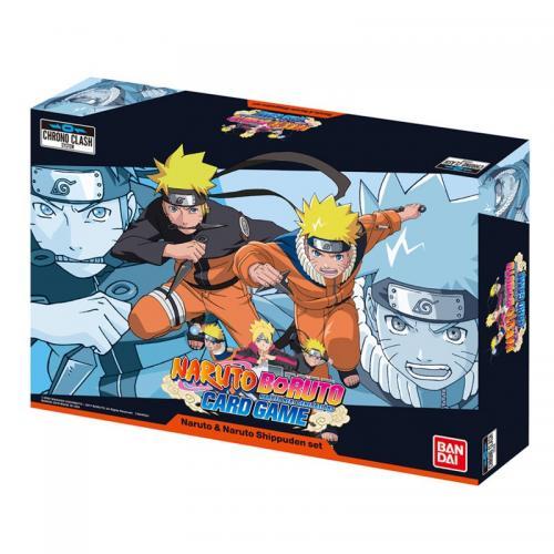NARUTO BORUTO - Set Naruto & Naruto Shippuden - Jeu de cartes