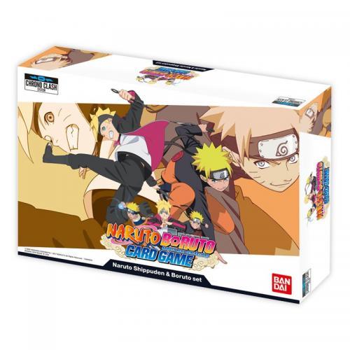 NARUTO BORUTO - Set Naruto Shippuden & Boruto - Jeu de cartes