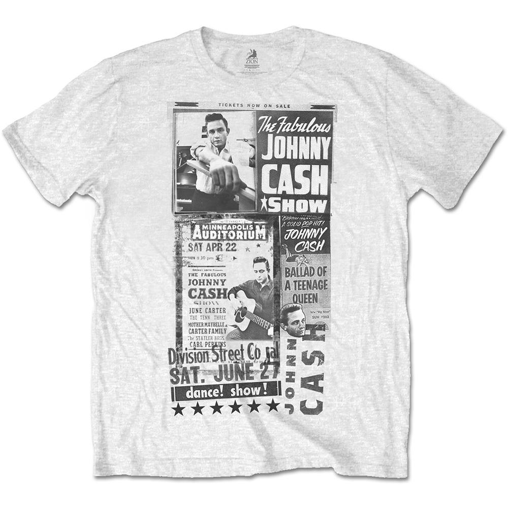 JOHNNY CASH - T-Shirt RWC - The Fabulous Show (L)