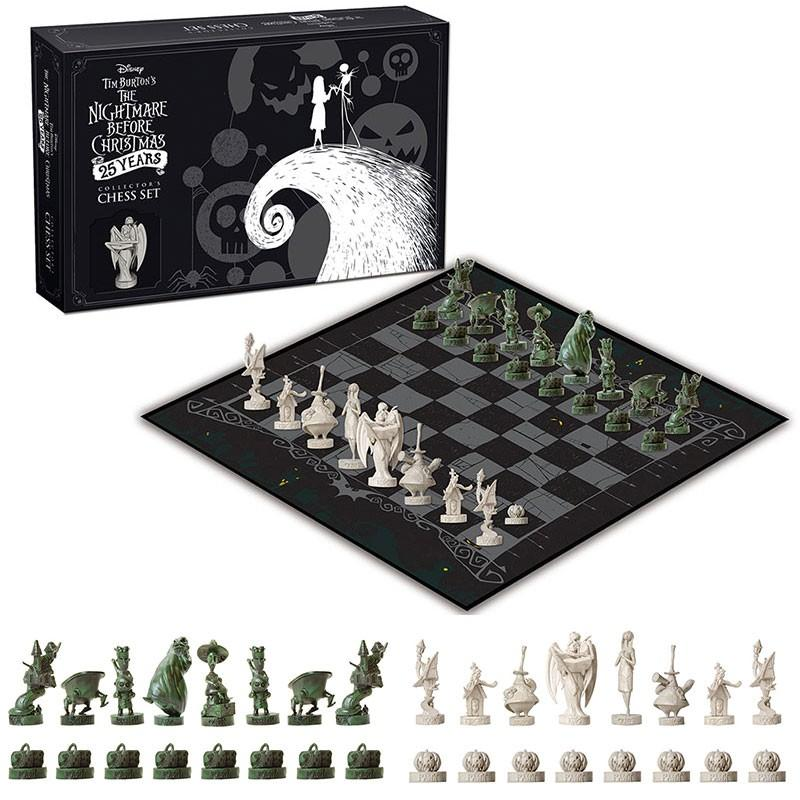 NIGHTMARE BEFORE CHRISTMAS - Collector Chess Set 25 Years_1