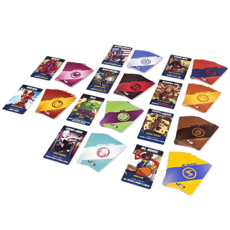 ShopForGeek | 5 MINUTE MARVEL - Le jeu de plateau 'FR' - 0778988323496 - Marvel Univers - Jeu de Plateau - 29.99€