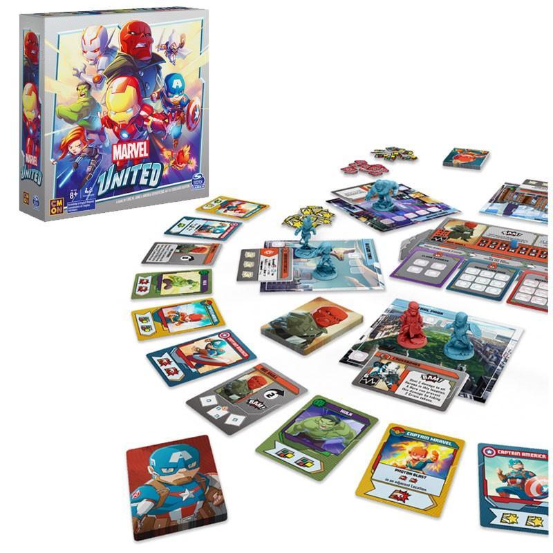 ShopForGeek | MARVEL UNITED - Le jeu de plateau 'FR' - 0778988324974 -  Marvel Univers - Jeu de Plateau - 39.99€