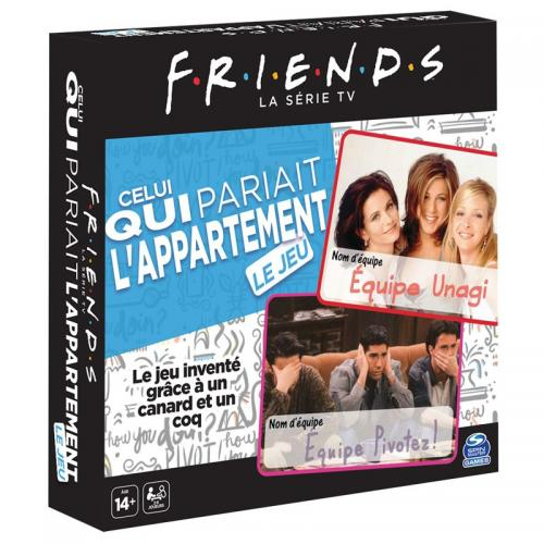 FRIENDS - Celui qui pariait l'appartement - Le Jeu 'FR'