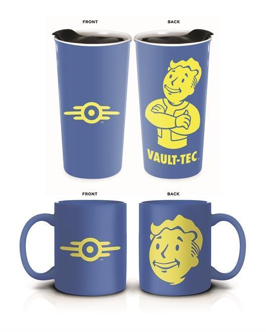 FALLOUT - SET Travel Mug + Mug 600ml Vault-Tec