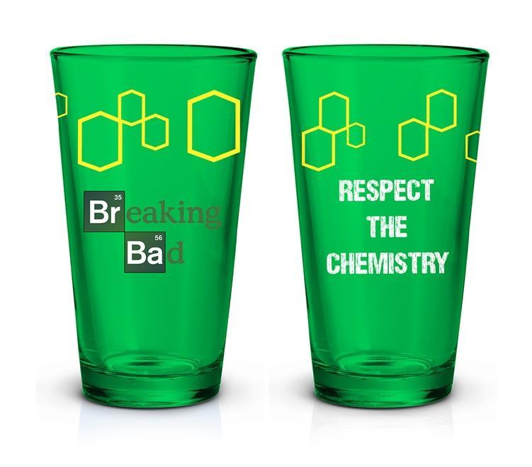 BREAKING BAD - Green Logo Pint Glass