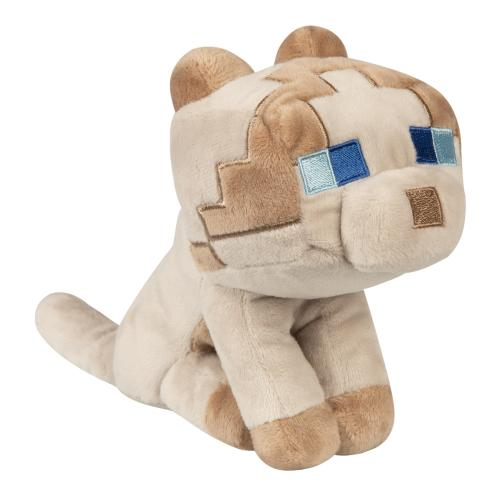 MINECRAFT - Peluche Happy Explorer - Ragdoll Cat - 18cm